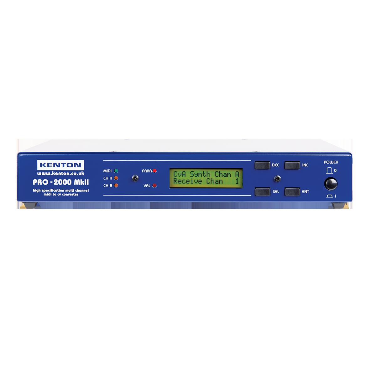 PRO-2000 MkII MIDI-CV converter