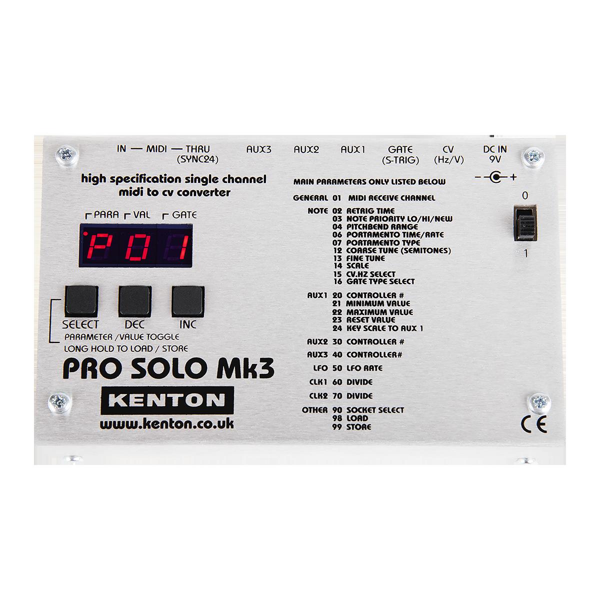 Pro Solo mk3